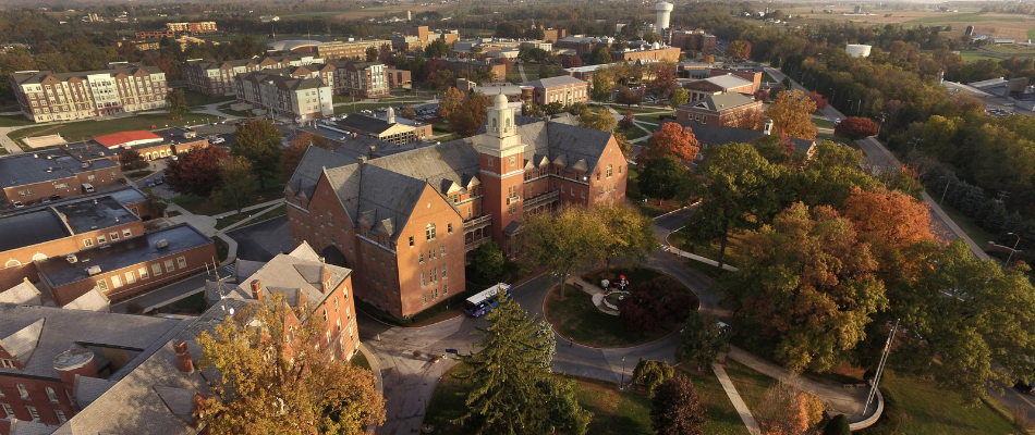 Shippensburg University - Aerial View